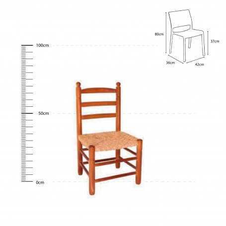 SMBM - silla-bola-mediana-madera-chopo-asiento-anea-enea-cotas-03-210-puntogar