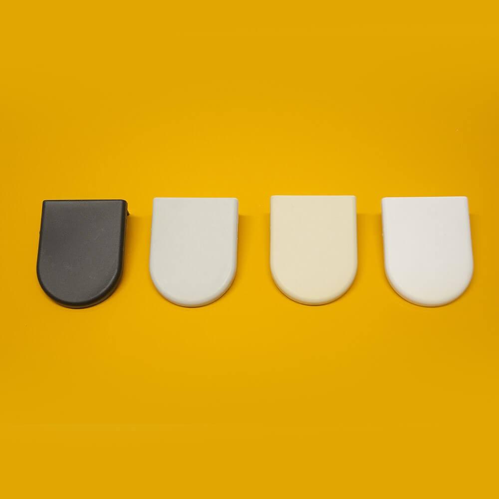 Bdst soporte tubo 38 mm estor enrollable embellecedores - Soportes para estores ...