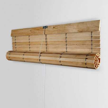 JAS - Persiana cadenilla alicantina madera sin pintar inc puntogar jcp