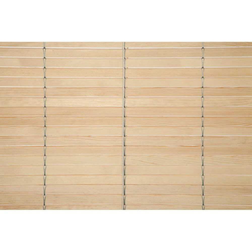 Persiana cadenilla alicantina madera sin pintar a medida - Puntogar