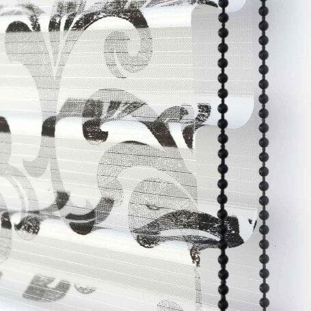 estor-veneciana-texti-ventex-noche-y-dia-detalle-tejido-estampado-negro-puntogar