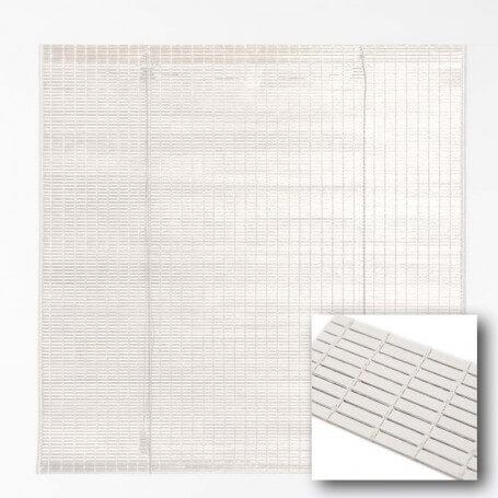 Persiana Esterilla pintada modelo color Blanco – a medida