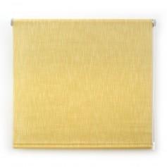 estor-enrollable-translúcido-shantung-vista-frontal-producto-Acabado-amarillo-selectivo