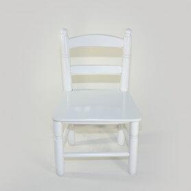 RE203-Silla-bola-n28-blanca-asiento-madera-vista-frontal