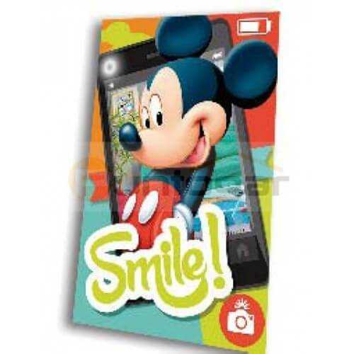 SMIM – Manta polar modelo Mickey movile
