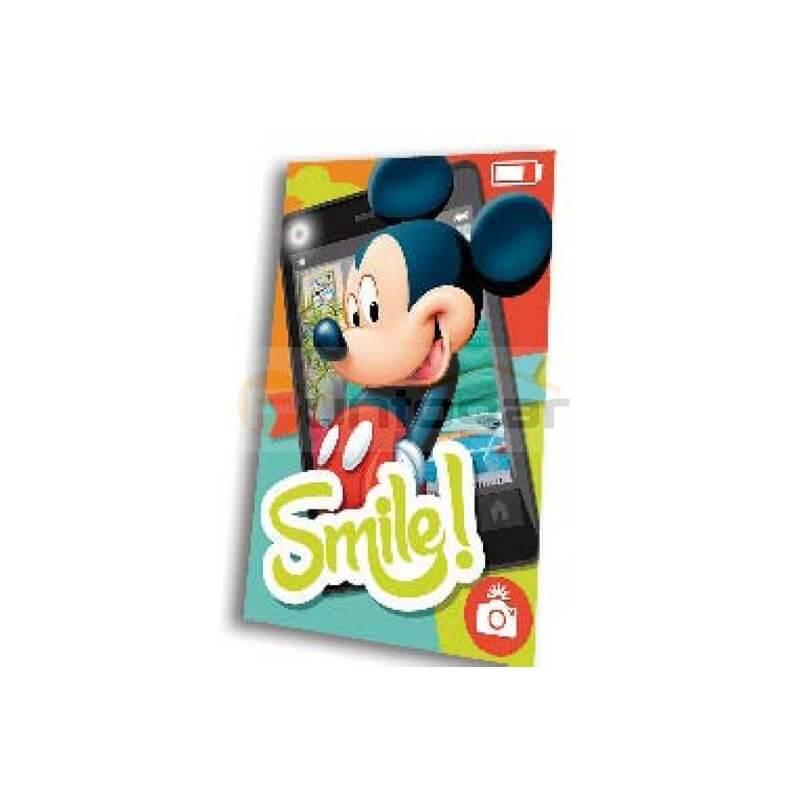 SMIM – Manta polar modelo Mickey movile