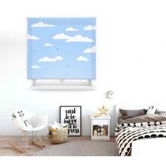 Sky - Estor translúcido estampado digital infantil de medidas estándar