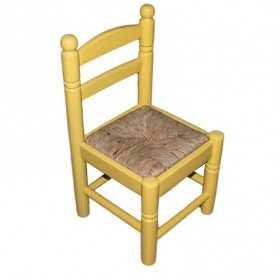 Silla-bola-numero-28-madera-chopo-asiento-enea-puesto-amarilla