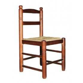 Silla-chata-madera-chopo-asiento-puesto-enea-acabado-nogal