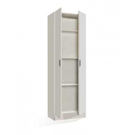 Mueble zapatero kit 2 puertas con 3 estantes Her