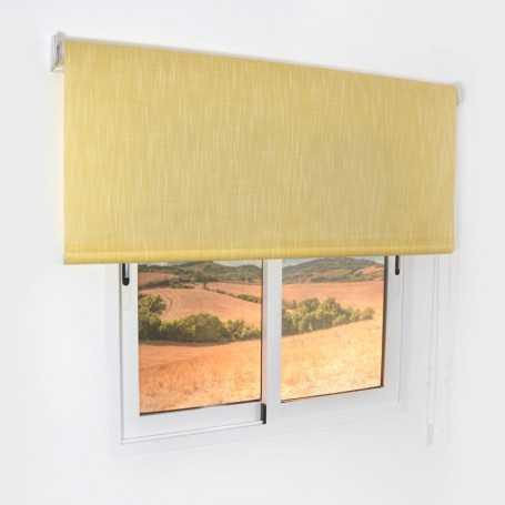 estor-enrollable-translúcido-shantung-ventana-producto-Acabado-amarillo-selectivo