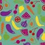 color 09 Estor para cocina estampado impresión digital Ovozole color