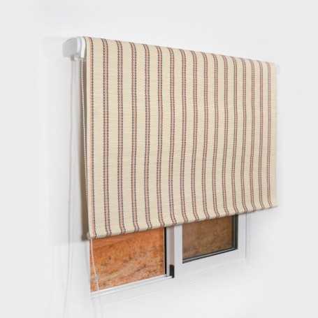Estor enrollable de láminas de madera fantasia n 43 a medida