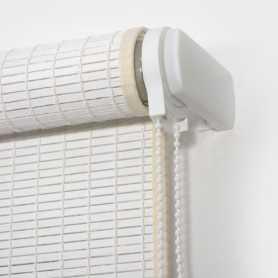 Estor enrollable láminas de madera N53 pintadas-color blanco 8