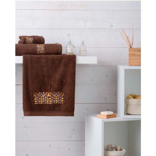 SJTM - Juego de toallas modelo Mosaico