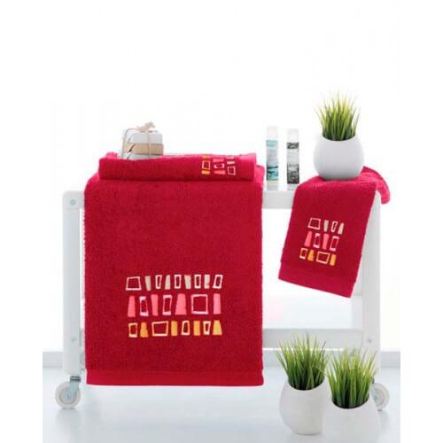 SJTA - Juego de toallas modelo Azteca