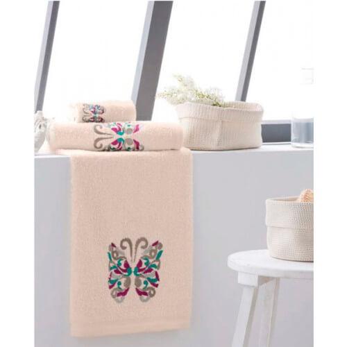 SJTB - Juego de toallas modelo Butterfly
