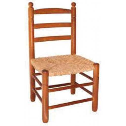 SMBM - Silla Bola mediana de madera de chopo asiento de Enea puntogar