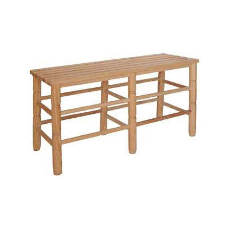 Banco 312 asiento madera