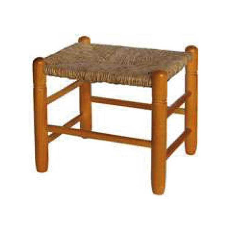 comprar taburete nido madera chopo asiento anea-enea