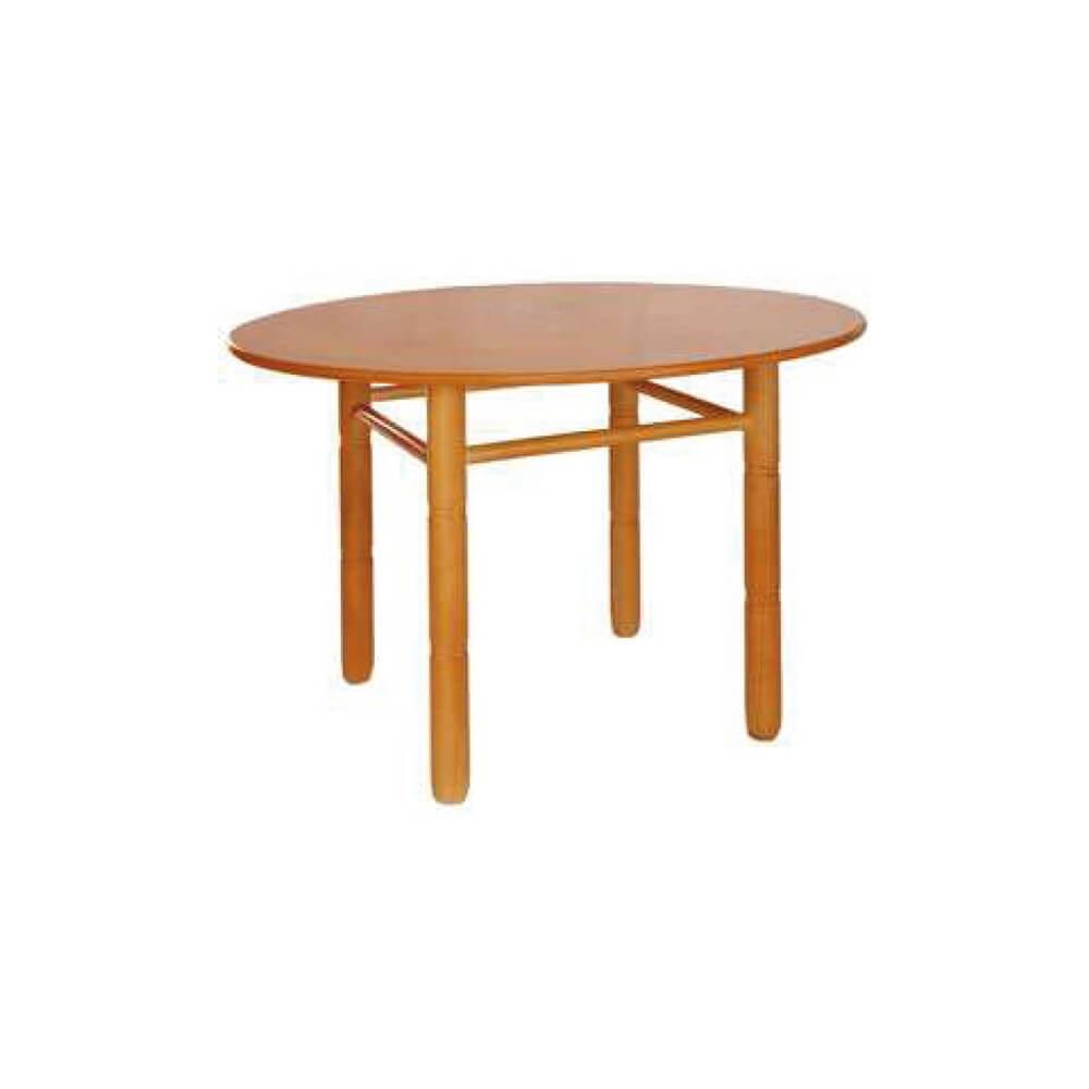 Mesa redonda madera for Mesa redonda madera