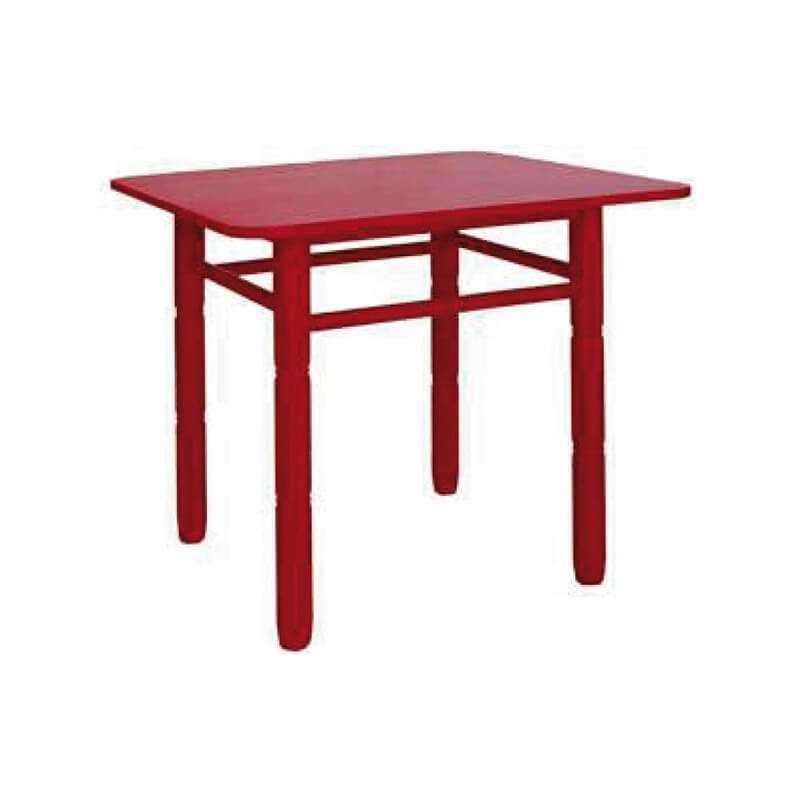 Mesa cuadrada madera