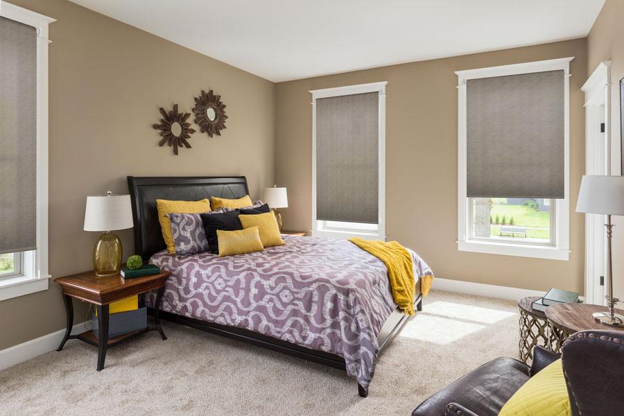10 tipos de estores que no conoces controla la luz de tu - Estores dormitorio matrimonio ...