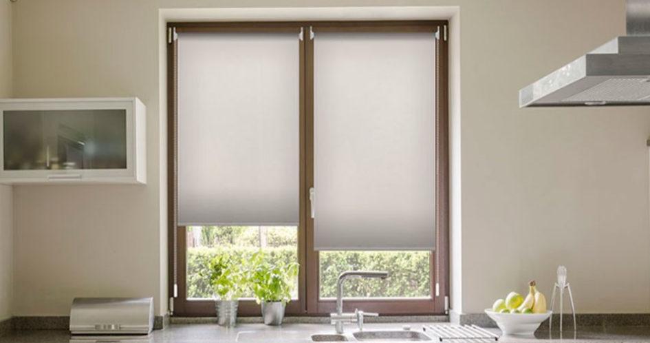 C mo colocar estores sin taladrar dos soluciones f ciles - Que cortinas poner en la cocina ...