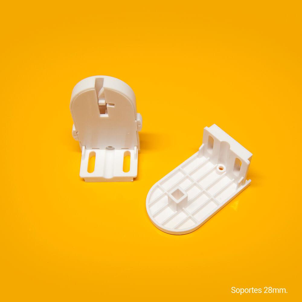 Sujeción-soportes estores estándar