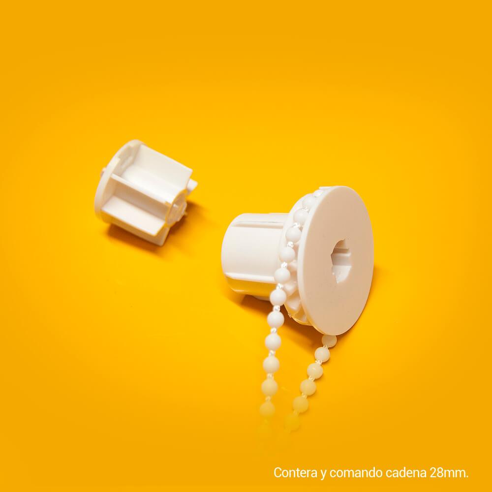Mecanismos cadena y contera estor medidas estándar 28 mm