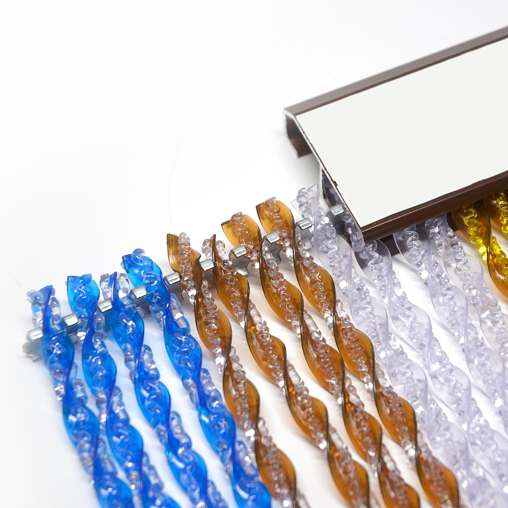 montaje cortinas de tiras
