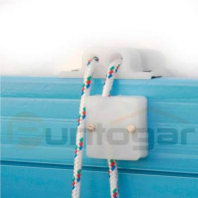 Freno retención pvc persiana alicantina plástico