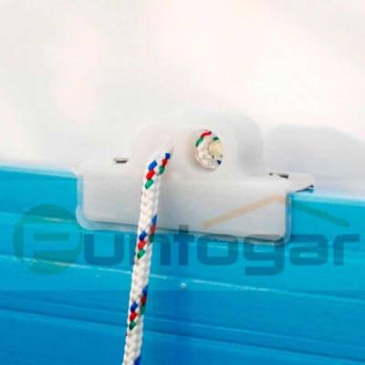 Polea plástico persiana alicantina plástico