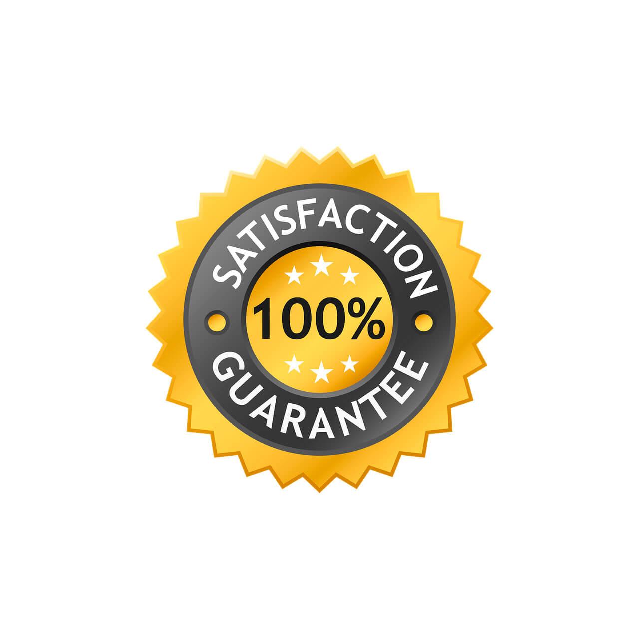 Satisfacción 100% garantizada por puntogar